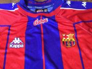 Global Classic Football Shirts | 1997 Barcelona Vintage Old Soccer Jerseys